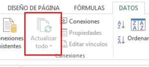 Actualizar todo Excel