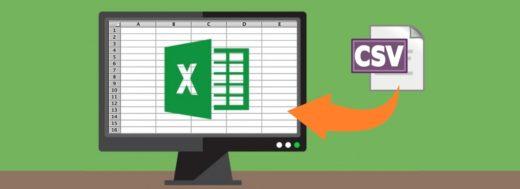 Importar CSV en Excel